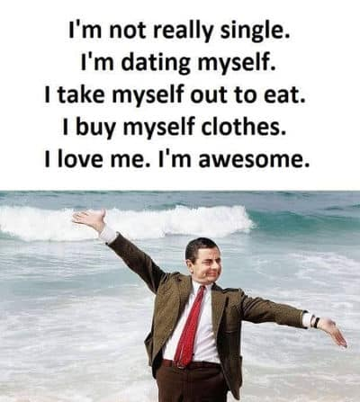 people ask why I am still single and not married