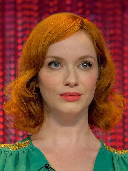 Christina Hendricks didn't fit in when she was in high school