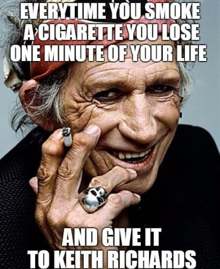 Funny meme to stop smoking