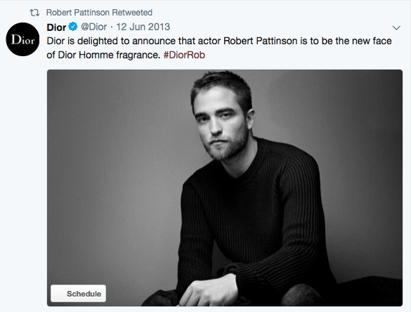 Robert Pattinson is famous for not smiling