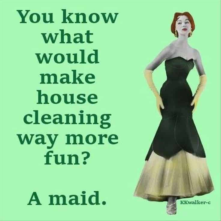 Don't want to clean the house funny meme