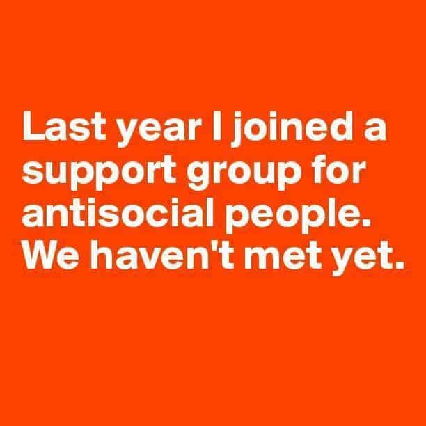 anti social meme