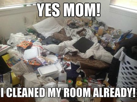 funny meme when your kids can't find stuff in their room