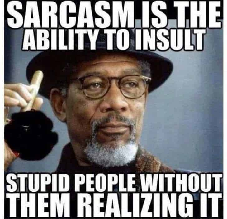 comebacks for being called sarcastic