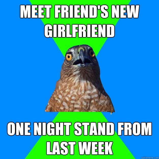 funny one night stand meme