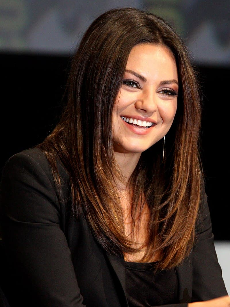 Mila Kunis was made fun of for her looks