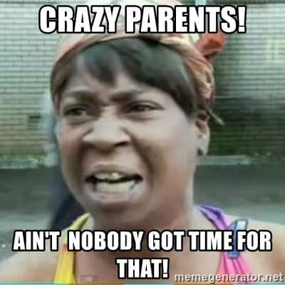 crazy comebacksfor parents