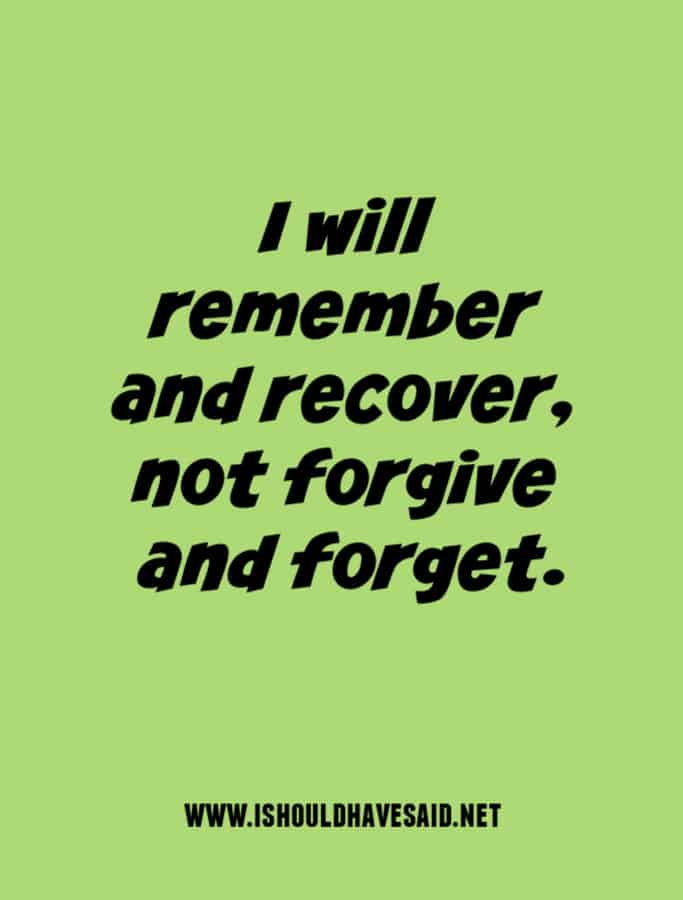 What to say when someone asks you for forgiveness