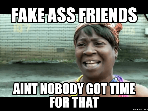 comebacks for a fake friend