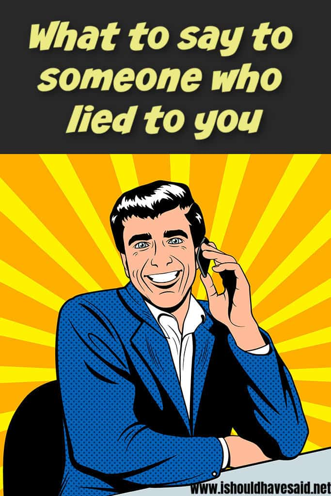 How to tell when someone is lying about cheating