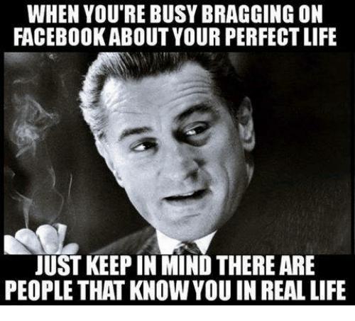 Funny bragger meme