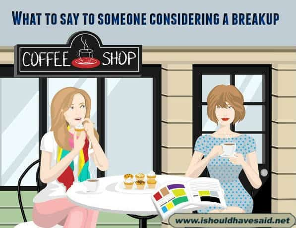What to say when someone is considering a breakup. Check out our top ten comeback lists. www.ishouldhavesaid.net.