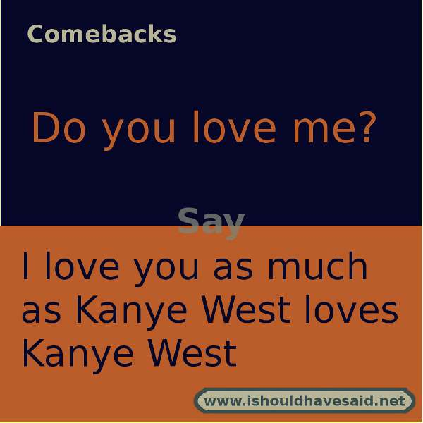 Do you love me funny answers