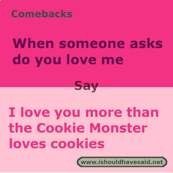 answering do you love me