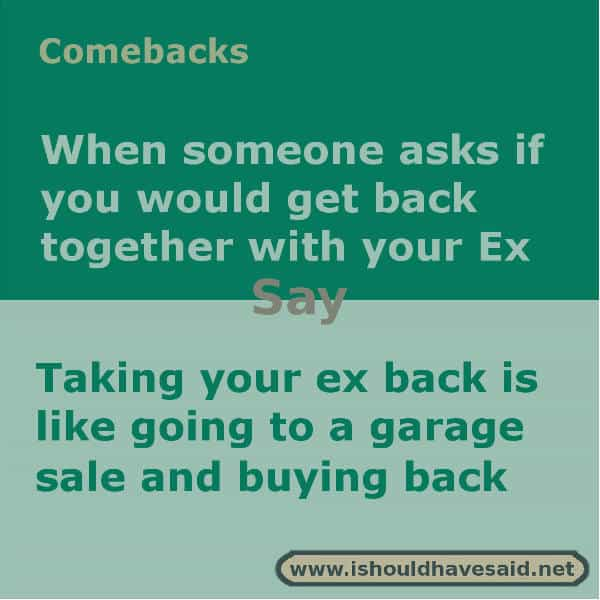How to get back together with your ex husband