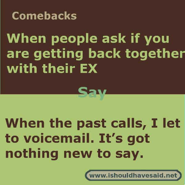 what to say when trying to get your ex back