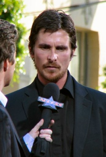 Christian Bale can like an entitled movie star