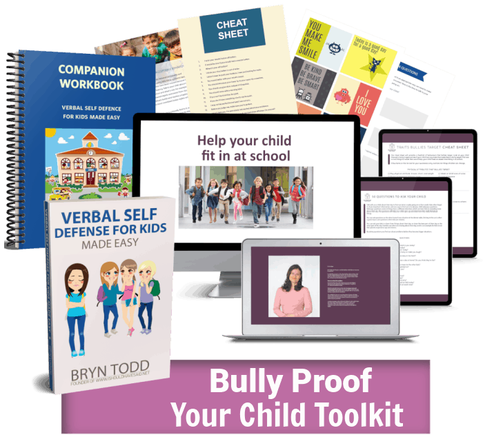 Bully Proof Your Child Toolkit