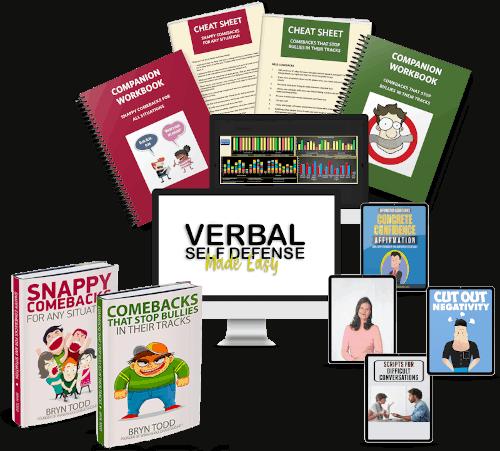 Verbal Self Defense Made Easy bundle